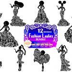 Fashion Women SVG Bundle