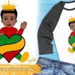 Little Black Boy SVG