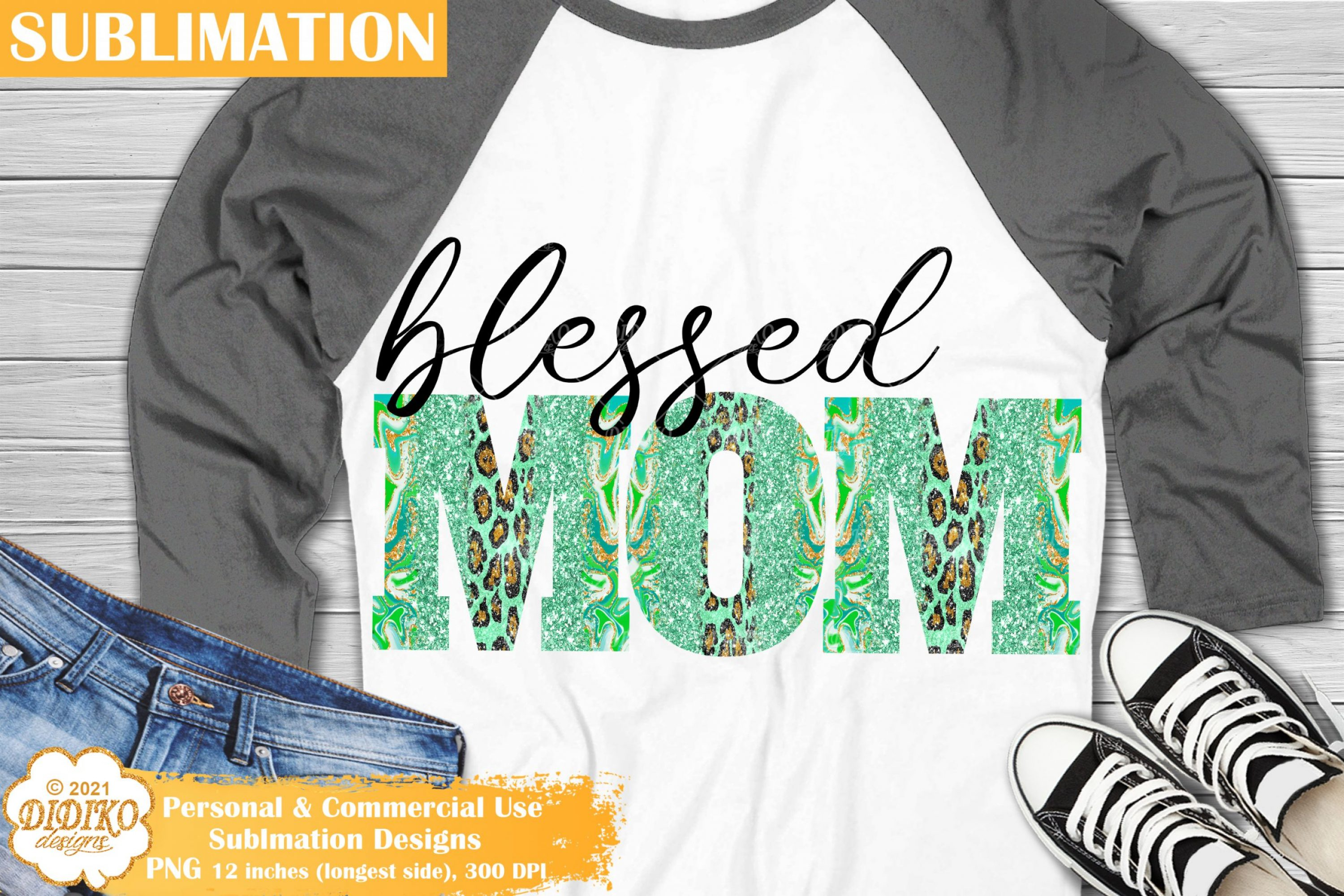 Mom Sublimation, Blessed Png, Mothers Day Png