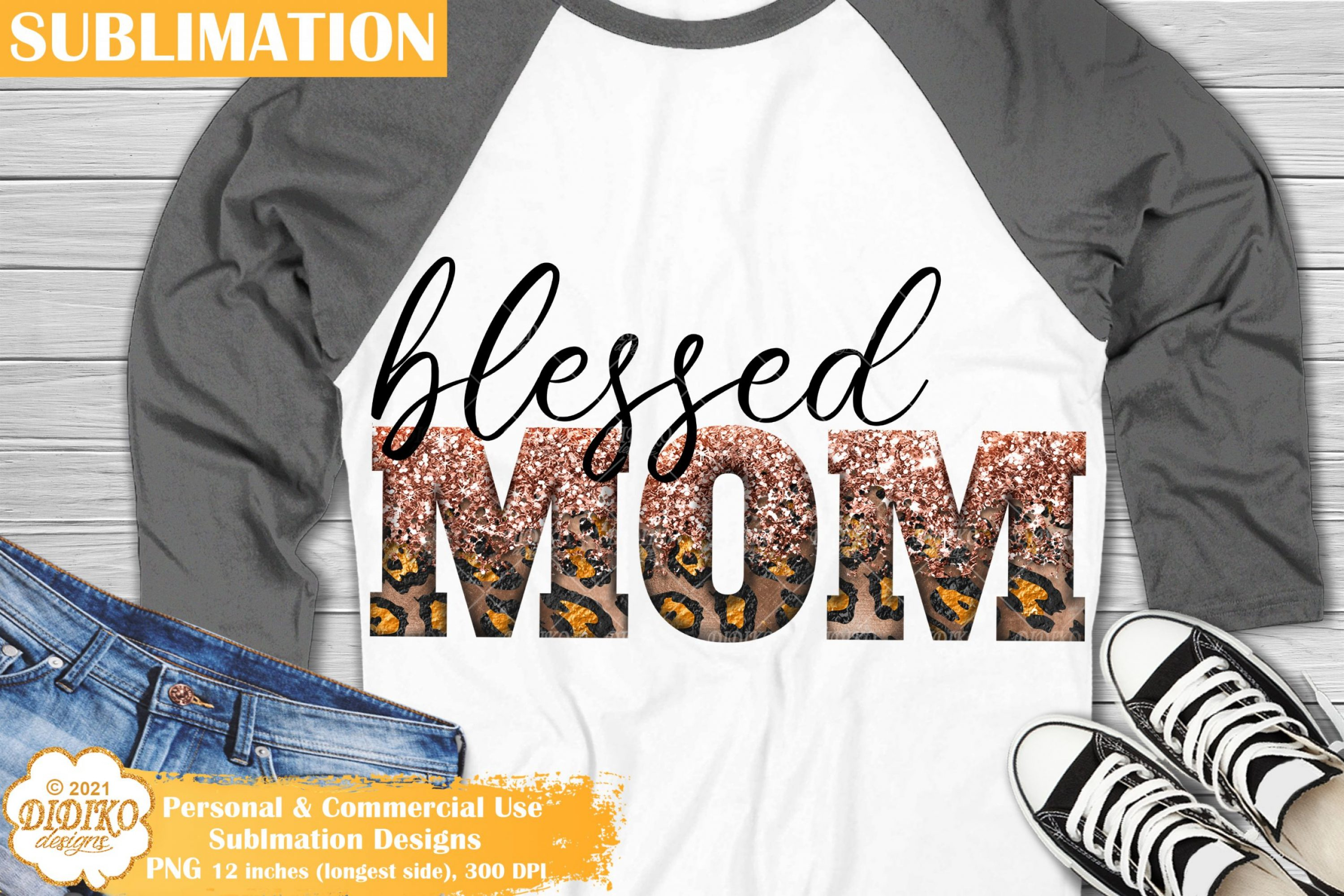 Mom Life Sublimation, Blessed Png, Mothers Day Png