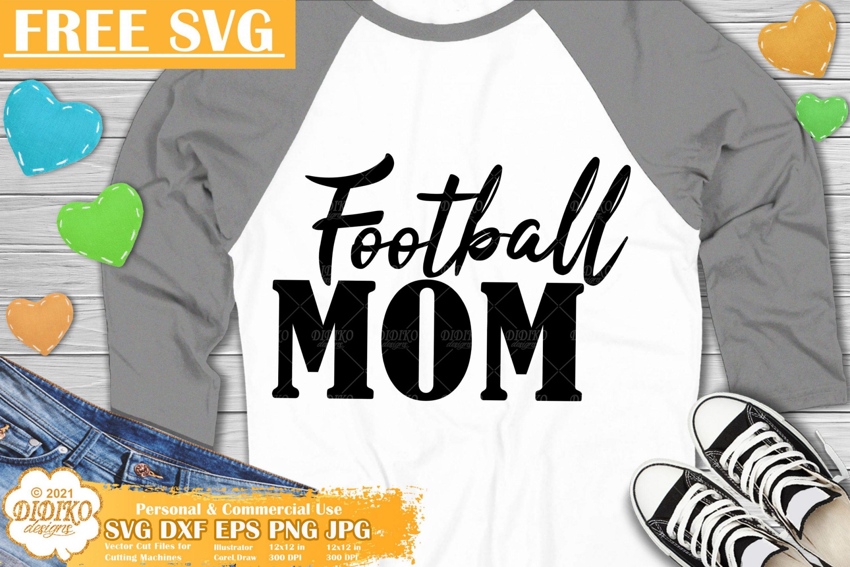 Football Mom Free SVG, American Football SVG Free