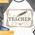 Teacher Sublimation Bundle