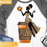 Pumpkin Spice Woman Sublimation