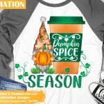 Pumpkin Gnome Sublimation