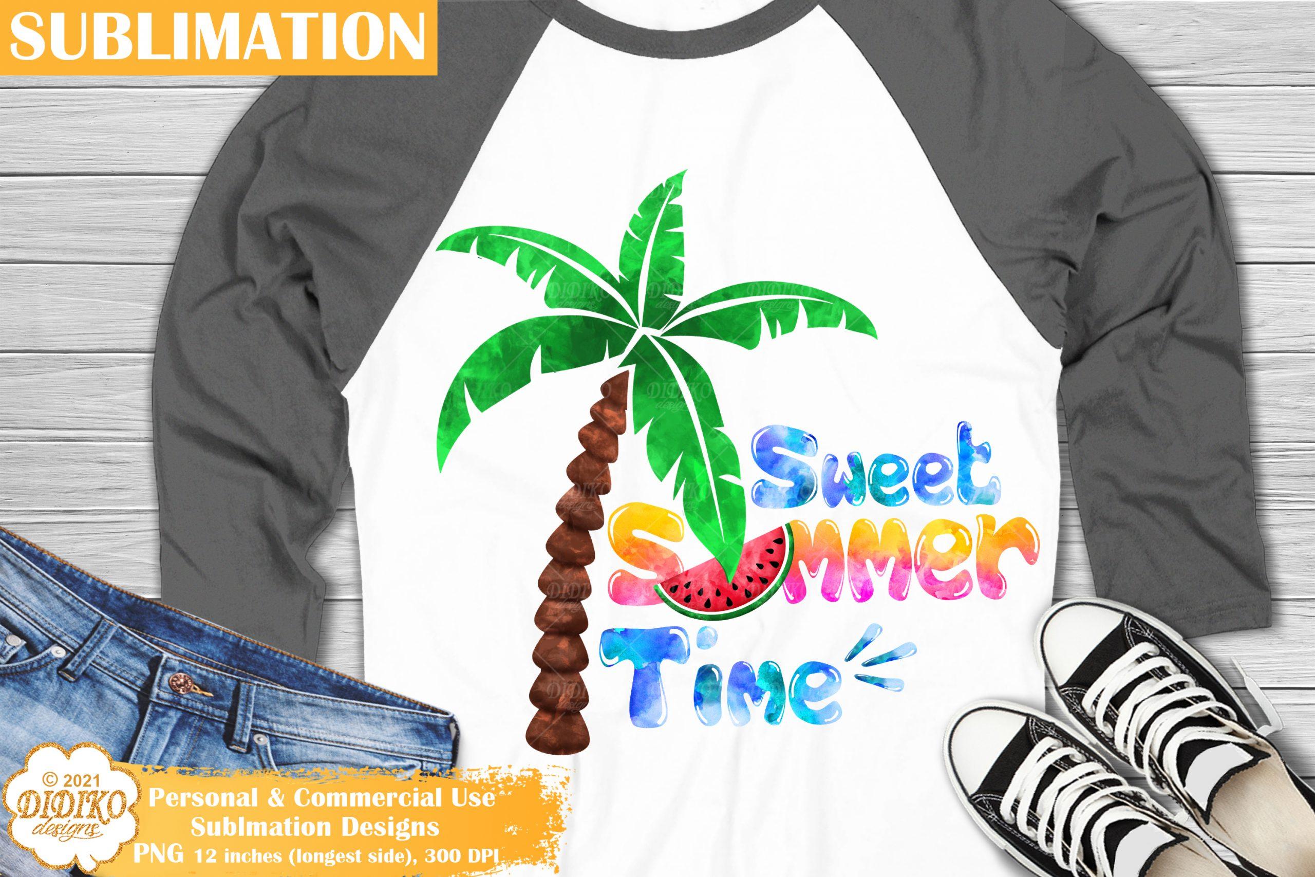 Beach Love Sublimation