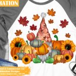 Fall Gnome Sublimation