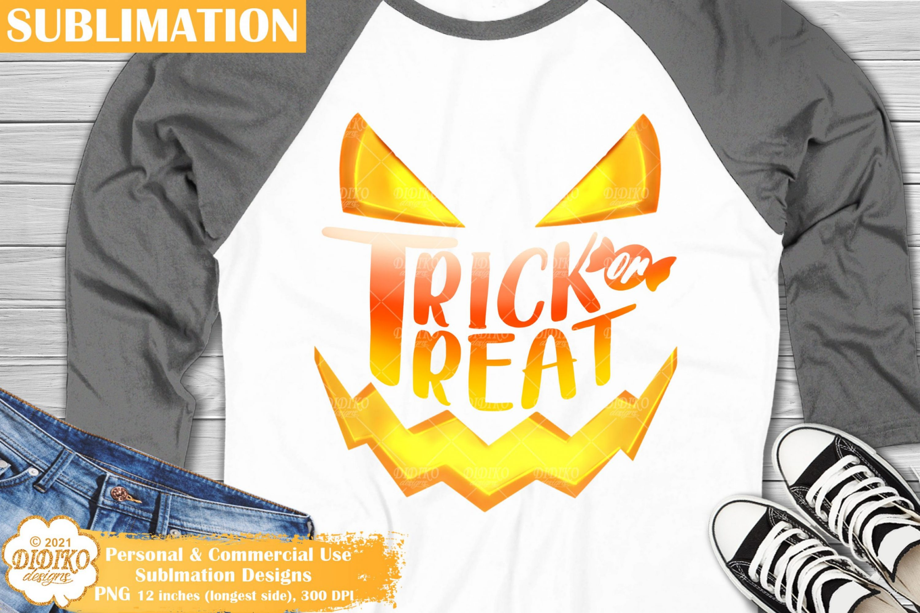 Trick Or Treat Sublimation, Halloween Candy Corn Png