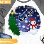Snowman Sublimation
