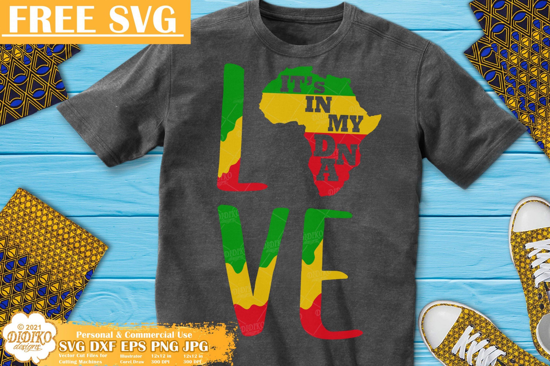 Free Africa SVG #3, Black history free svg, Juneteenth