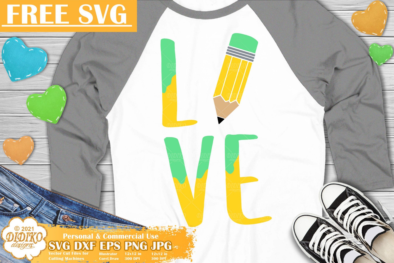 School SVG Free, Teacher Svg, Pencil Free Svg Png